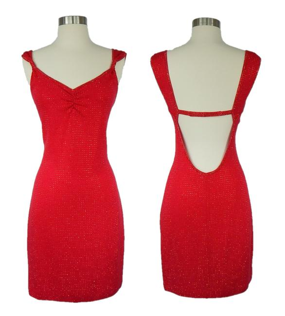 Preload https://img-static.tradesy.com/item/24209203/st-john-red-open-back-rhinestone-evening-short-cocktail-dress-size-2-xs-0-0-650-650.jpg