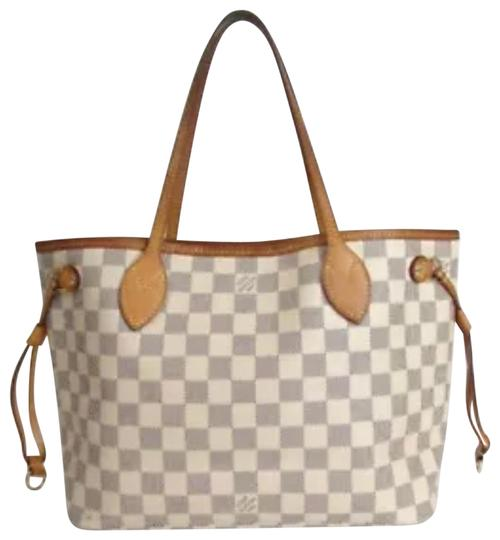 Preload https://img-static.tradesy.com/item/24209206/louis-vuitton-neverfull-pm-damier-azur-shoulder-white-canvas-tote-0-1-540-540.jpg