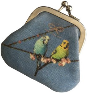 Anya Hindmarch Vintage Anya Hindmarch Parrots Coin Purse with Twist Fastening