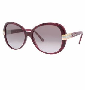 Chopard New SCH 110 Women Butterfly Crystal Embellished Sunglasses Italy