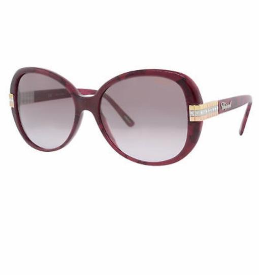 Preload https://img-static.tradesy.com/item/24209537/chopard-plum-and-gold-new-sch-110-women-butterfly-crystal-embellished-sunglasses-0-1-540-540.jpg