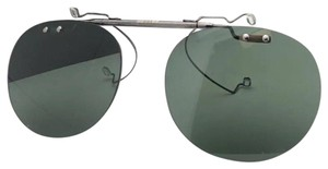 Oliver Peoples New OLIVER PEOPLES 5004C 5071 Riley R Flip-up Clip-on Gunmetal w/Green