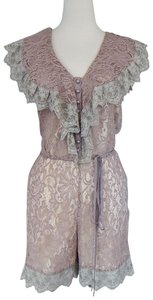 ALICE by Temperley Lace Playsuit Dress