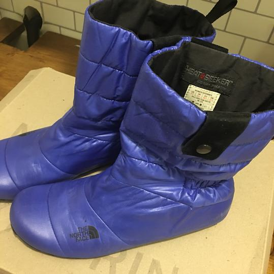 The North Face Black & white / Cobalt blue Boots Image 10