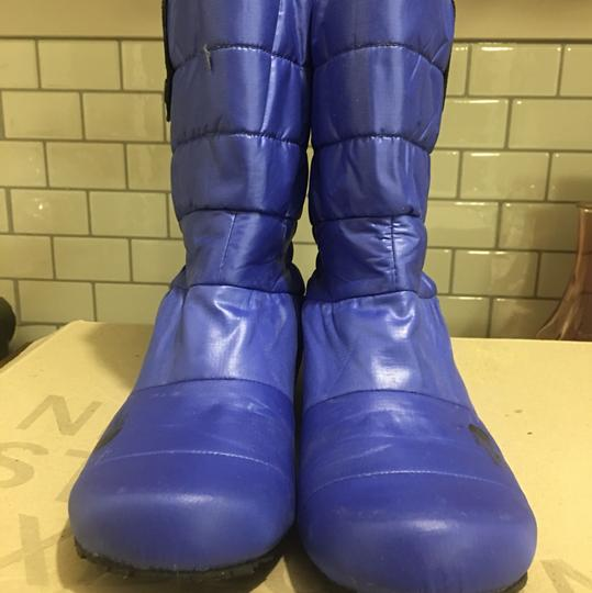 The North Face Black & white / Cobalt blue Boots Image 8