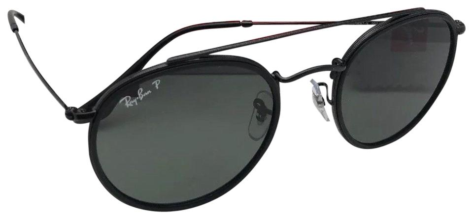 5c89362be5 Ray-Ban Polarized Rb 3647-n 002 58 51-22 Black Frames W  Grey Lenses ...