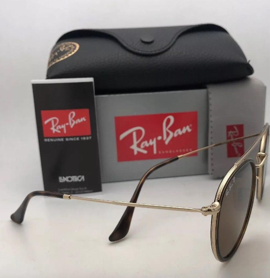 6b07f76150c Ray-Ban Polarized Rb 3647-n 001 57 51-22 Brown   Gold W  Brown Lenses 001 57  W Brown Sunglasses