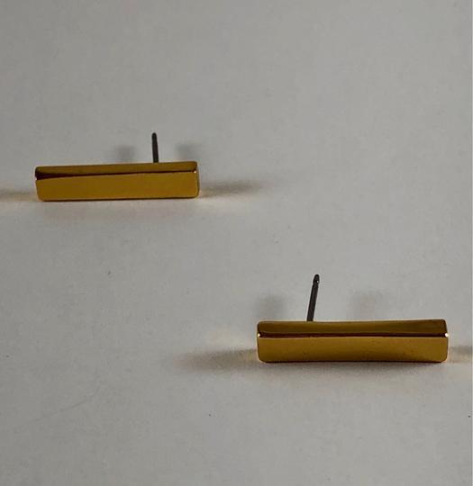 Vince Camuto Vince Camuto Gold/Bars Earrings Image 2