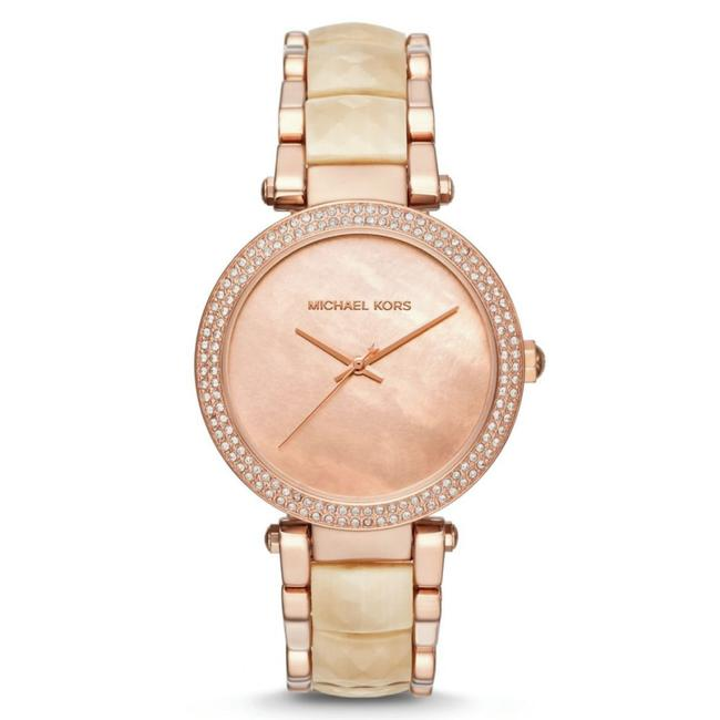 Item - Multicolor Women's Parker Rose Gold-tone and Champagneacetate Mk6492 Watch