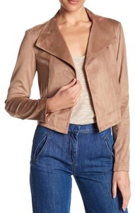 1.STATE Tan Leather Jacket