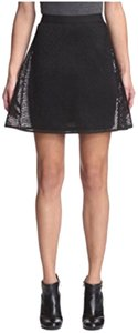 Romeo & Juliet Couture Mini Skirt Black