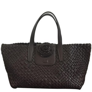 Falor Tote in Dark Brown