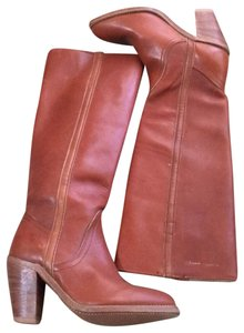 Frye Vintage Tall Cognac Boots