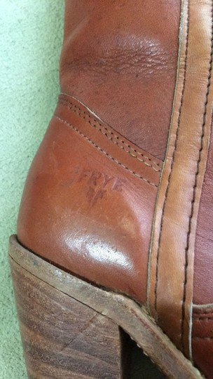 Frye Vintage Tall Cognac Boots Image 1