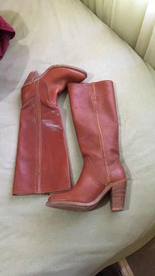 Frye Vintage Tall Cognac Boots Image 2