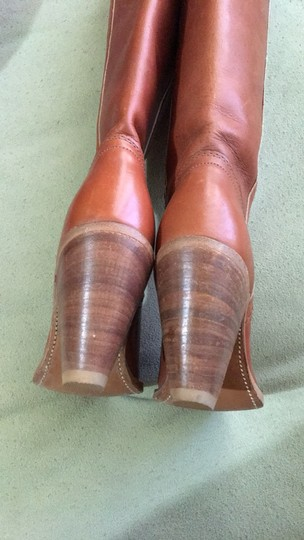Frye Vintage Tall Cognac Boots Image 4