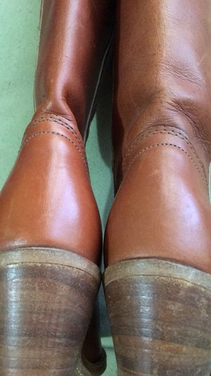 Frye Vintage Tall Cognac Boots Image 5