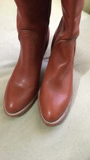 Frye Vintage Tall Cognac Boots Image 6