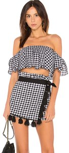 MISA Los Angeles Skort Black and white