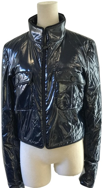 Item - Navy Blue Lightweight Quilted Jacket Size 6 (S)