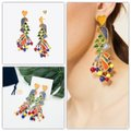 Tory Burch Tory Burch Parrot Statement Earrings