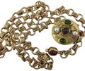 Chanel Chanel Medallion Multicolor Stone Belt Image 1