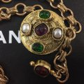 Chanel Chanel Medallion Multicolor Stone Belt Image 10