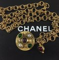 Chanel Chanel Medallion Multicolor Stone Belt Image 9