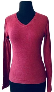 Three Dots V-neck Athleisure Athletic Sporty Sweater