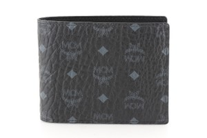 MCM MCM Black Visetos Coated Canvas Claus Bifold Wallet