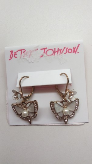 Betsey Johnson Betsey Johnson New Butterfly Bracelet & Earrings Image 6