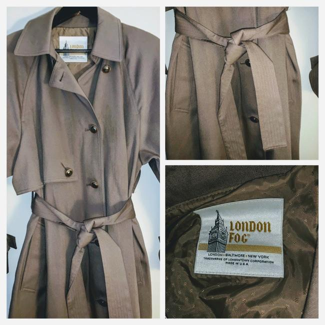 London Fog Trench Coat Image 5