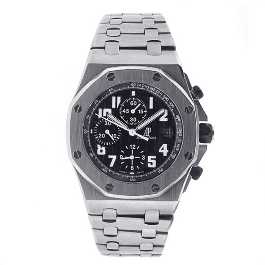Preload https://img-static.tradesy.com/item/24210447/audemars-piguet-stainless-steel-royal-oak-offshore-chronograph-with-black-dial-watch-0-0-540-540.jpg