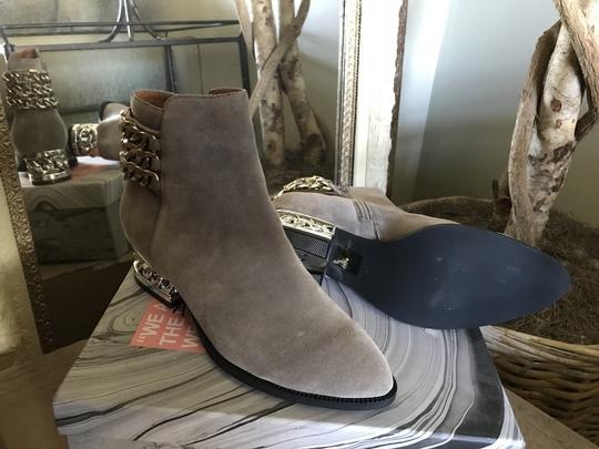Jeffrey Campbell Ankle Chains Grey Suede Boots Image 4