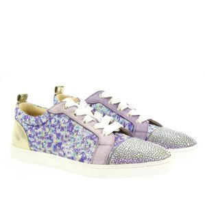 Christian Louboutin purple multicolor Athletic