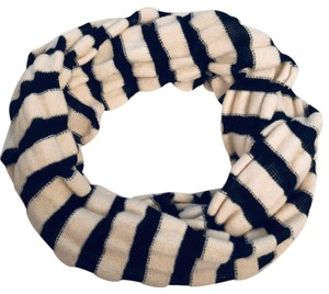 Tarnish striped infinity scarf