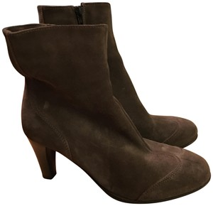 La Canadienne Suede Ankle Gray Boots