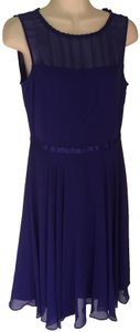 Hobbs London Date Night Fit And Flare Sleeveless Georgette Dress