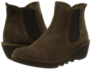 FLY London Phil Ankle Suede 39 sludge/ taupe Boots