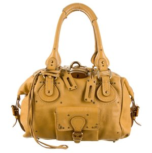 Chloé Satchel In Marygold