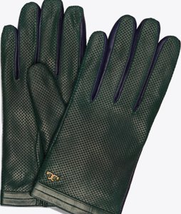 Tory Burch Authentic Tory Burch perforated leather gloves