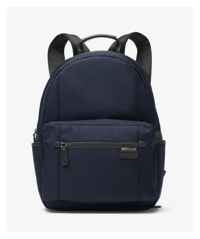 a3a004487037 Michael Kors Mens Travis Navy Nylon Backpack - Tradesy