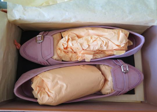 Tod's Suede Leather Comfortable Pink Flats Image 5