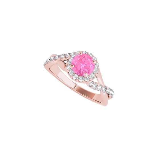 Preload https://img-static.tradesy.com/item/24211940/white-pink-sapphire-cz-halo-criss-cross-engagement-ring-0-0-540-540.jpg