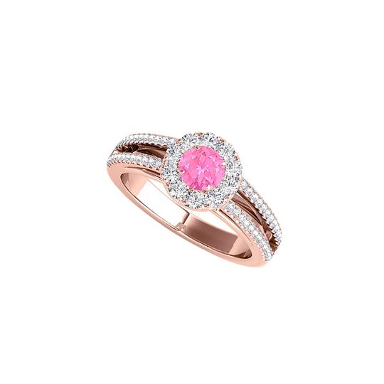 Preload https://img-static.tradesy.com/item/24211956/white-halo-split-shank-design-with-pink-sapphire-and-cz-ring-0-0-540-540.jpg