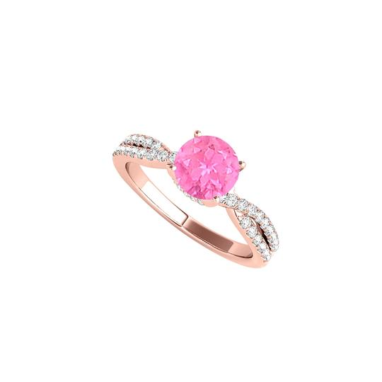 Preload https://img-static.tradesy.com/item/24211988/white-pink-sapphire-cz-criss-cross-in-rose-gold-vermeil-ring-0-0-540-540.jpg