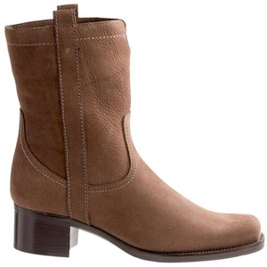 La Canadienne Brown Nubuck Boots