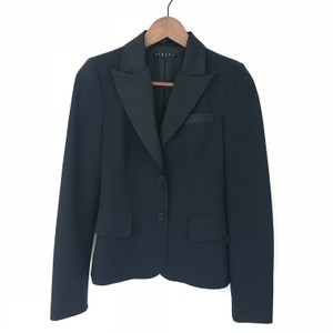 Sisley Career With Shiny Sleek Chic Black Blazer