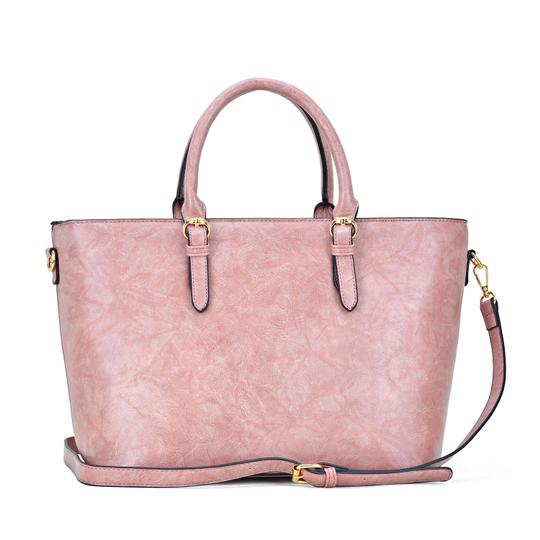 Dasein The Treasured Hippie Large Bags Affordable Bags Designer Inspired Vintage Tote in Dark Blush Image 4