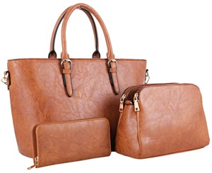 Dasein The Treasured Hippie Large Bags Affordable Bags Designer Inspired Vintage Tote in Brown